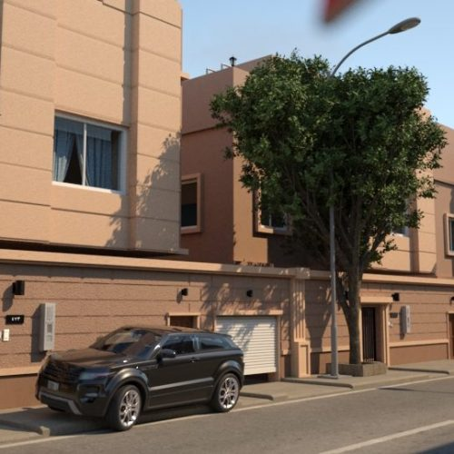 The Townhouses Render